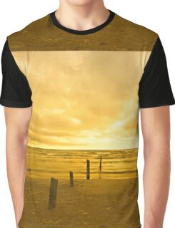 Sunset on Sauble Beach Graphic T-Shirt