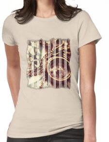 Old Compass Womens Fitted T-Shirt