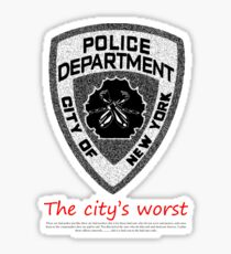 The City's Worst Sticker