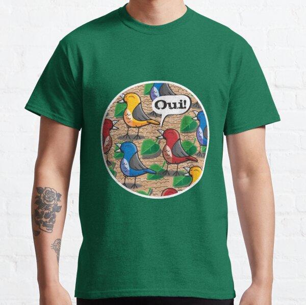 The Birds of Jardin du Luxembourg Classic T-Shirt