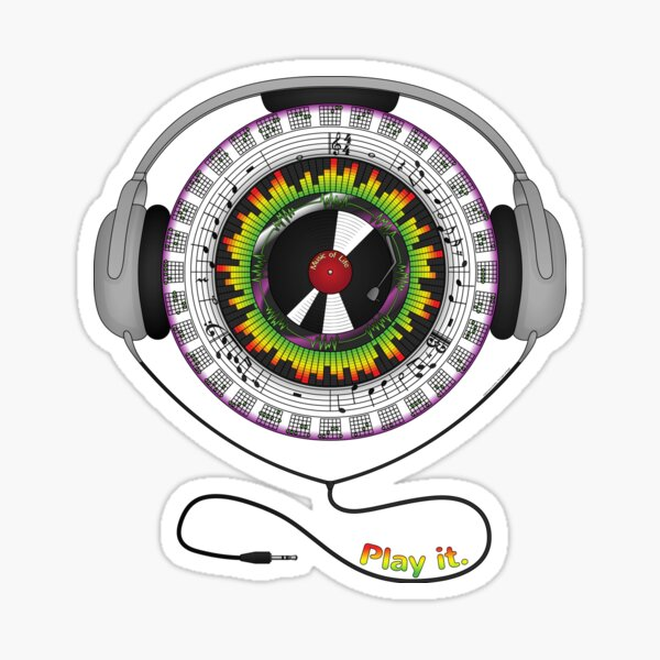 Music of Life Sticker