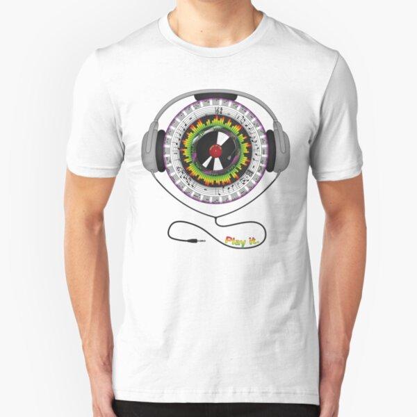 Music of Life Slim Fit T-Shirt