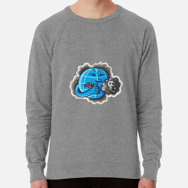 Our polluted world Lightweight Sweatshirt