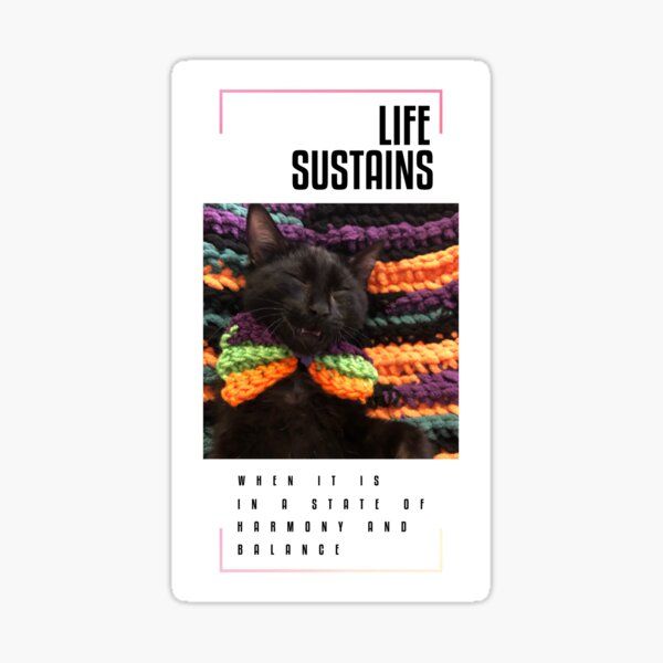 Nero - life sustains Sticker