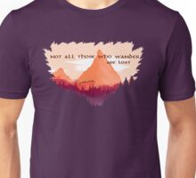 Lord of The Rings Transparent Unisex T-Shirt