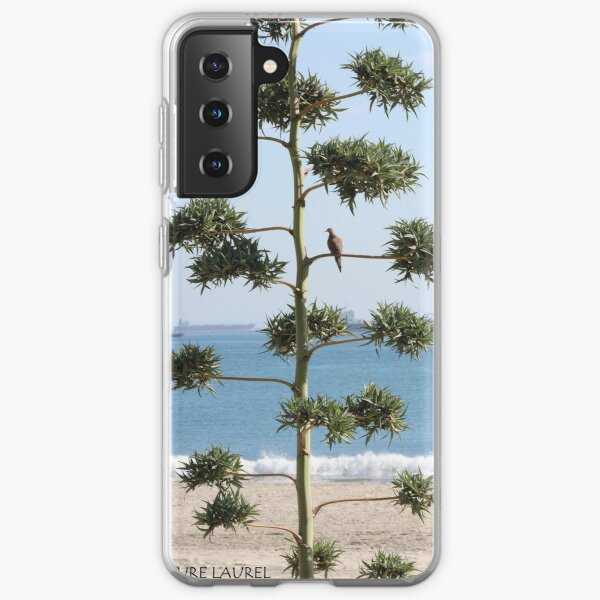 A Dove on a Tree Samsung Galaxy Soft Case