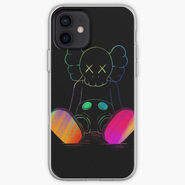 Neon companion iPhone Soft Case