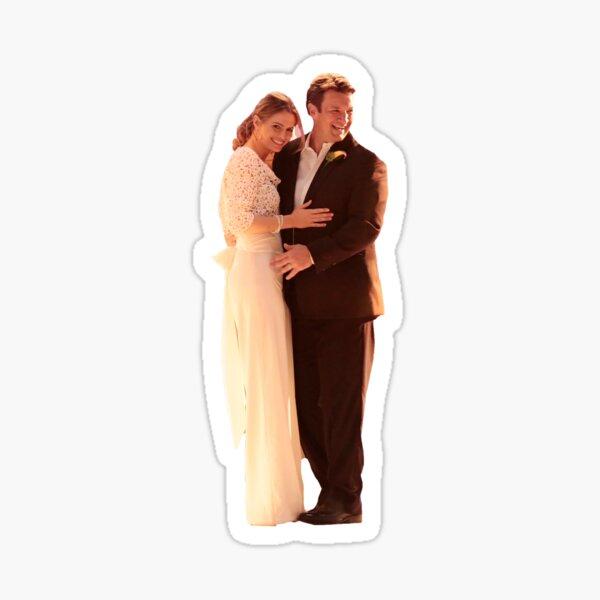 Caskett Wedding #1 Sticker