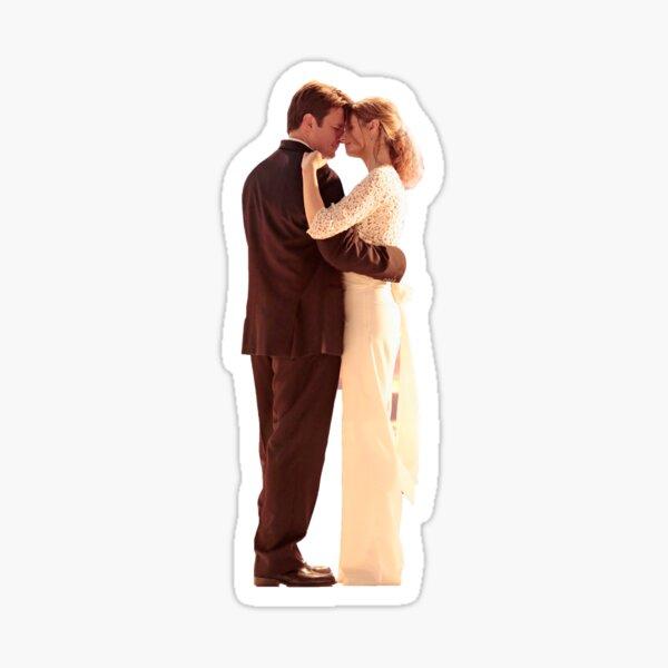 Caskett Wedding #3 Sticker