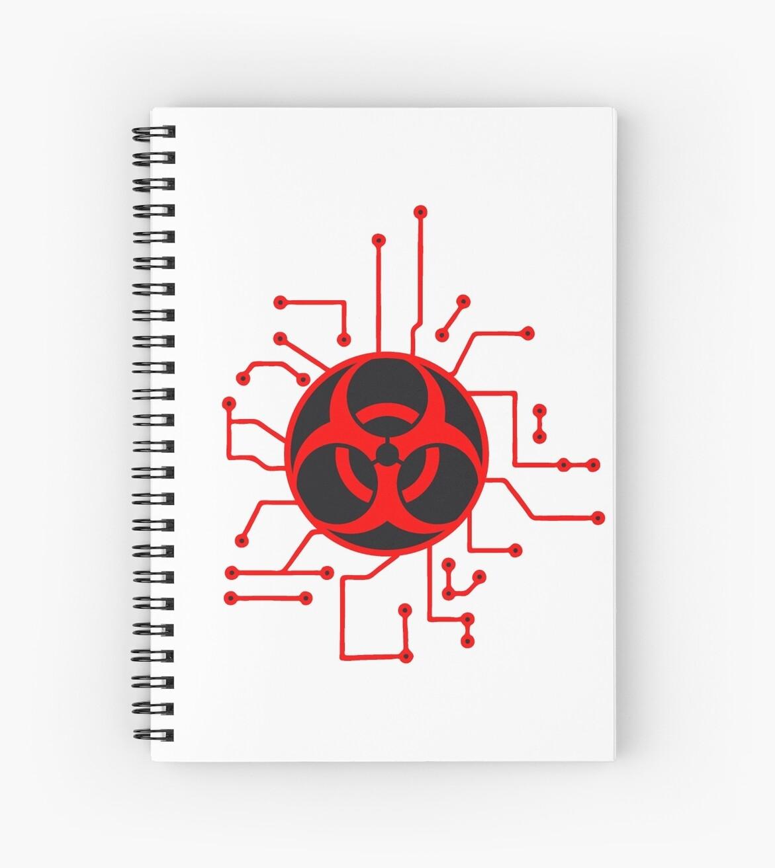 Cradle Electric Symbol Toxic Virus Bacteria Zombie Apocalypse