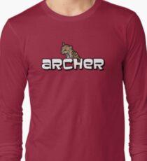 """Archer - Babou """"Fox eared asshole"""" Long Sleeve T-Shirt"""