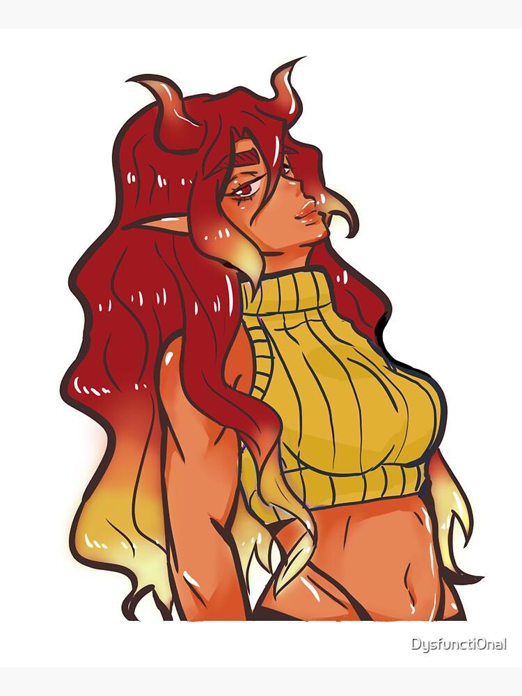 Demon mom by Dysfuncti0nal