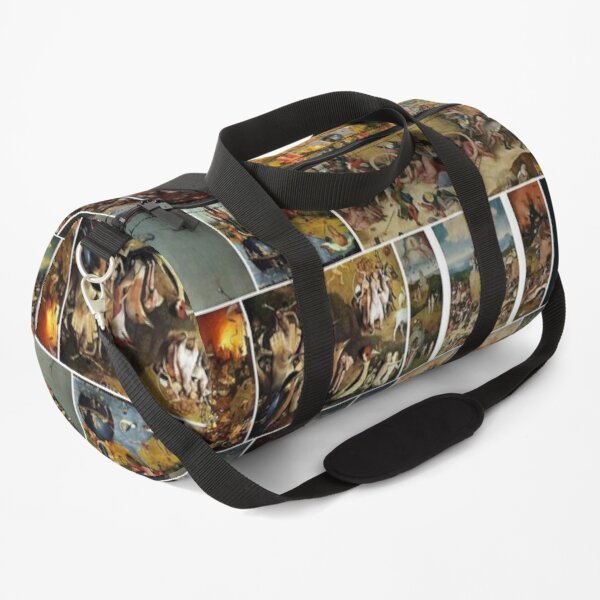Print, #Hieronymus, #Bosch, #HieronymusBosch, #Paintings, Fantastic Landscapes, Heavenly Powers, Duffle Bag