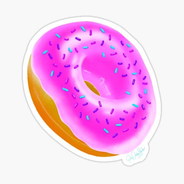 Donut Do It Sticker