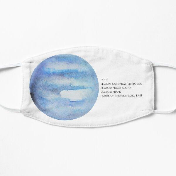 Hoth Sticker Flat Mask
