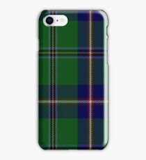 00165 Washington State District Tartan  iPhone Case/Skin