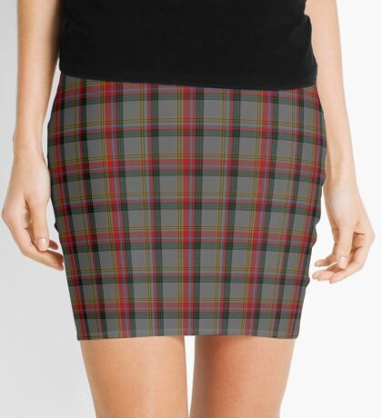 00172 Berrwick upon Tweed English District Tartan  (asymmetric) Mini Skirt