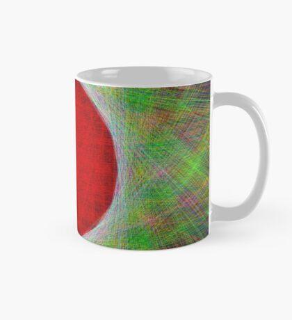 Red Button Planet Mug