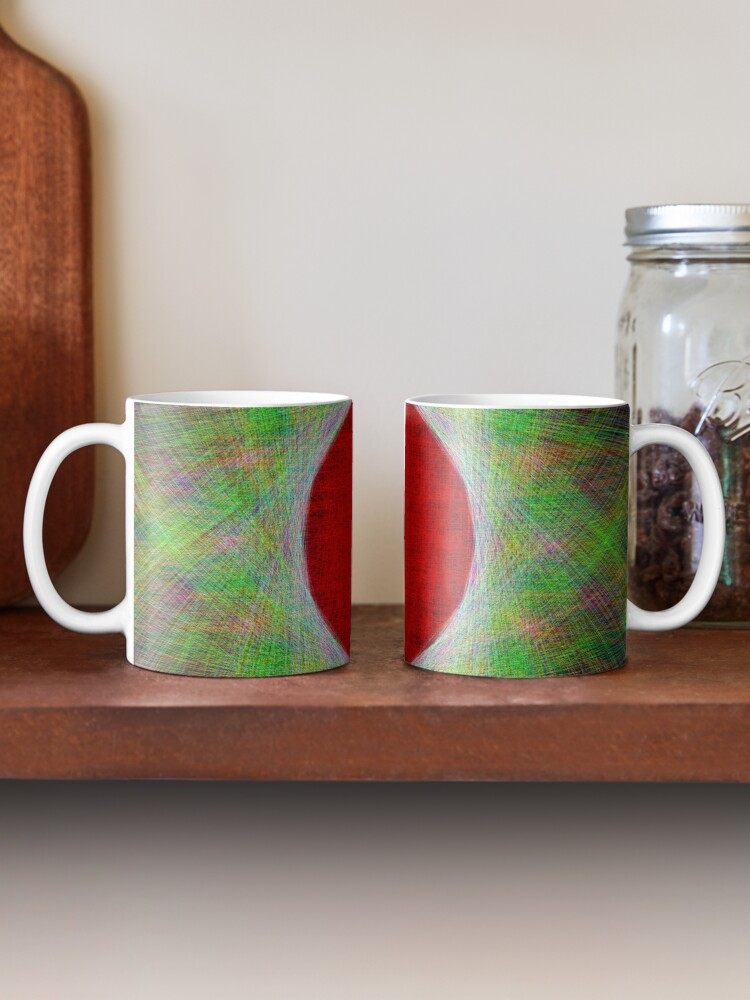 Alternate view of Red Button Planet Mug