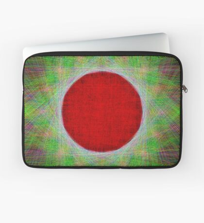 Red Button Planet Laptop Sleeve