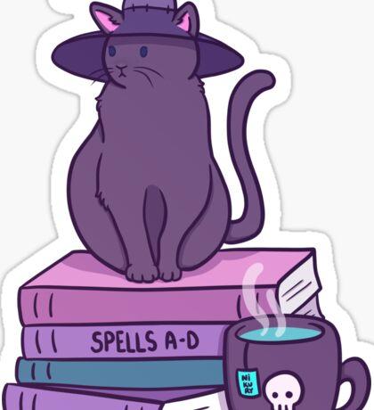 Feline Familiar Sticker