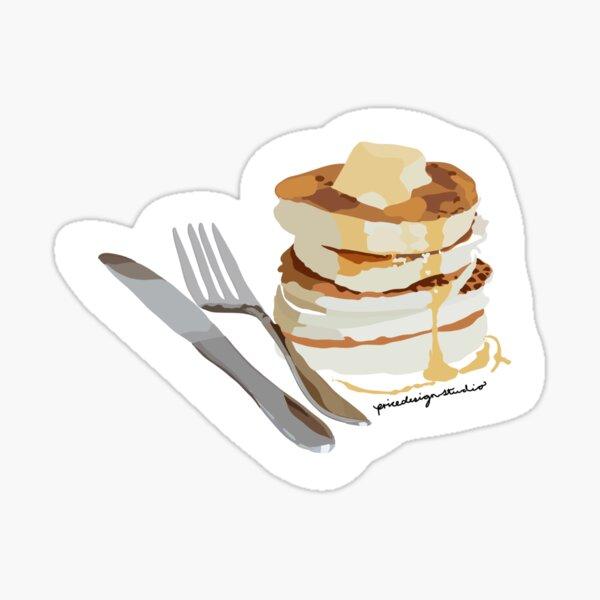 Pancake Stack Sticker
