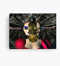 ANDROID XENIA SPACESHIP PILOT  / Sci -Fi Canvas Print