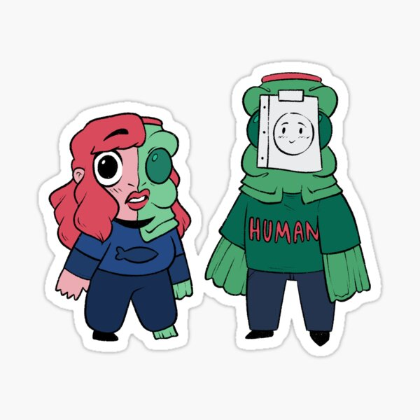 Andy and Sebbie Sticker