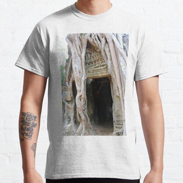 Banyan Doorway in Angkor Classic T-Shirt