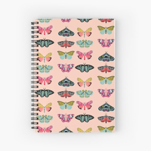 Lepidoptery No. 1 by Andrea Lauren  Spiral Notebook