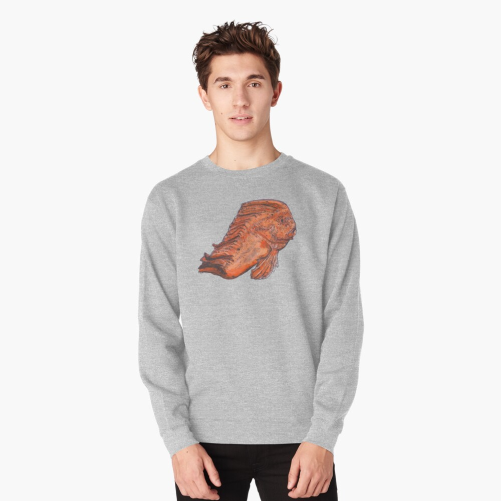 Donald the Red Indian Fish Pullover Sweatshirt