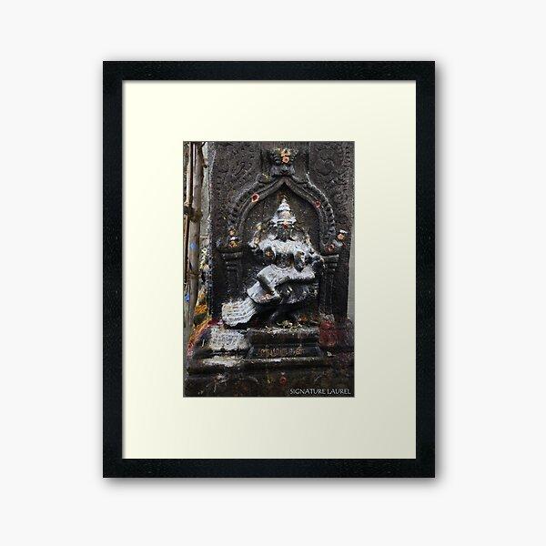 Dancing Shiva in the Temple Framed Art Print