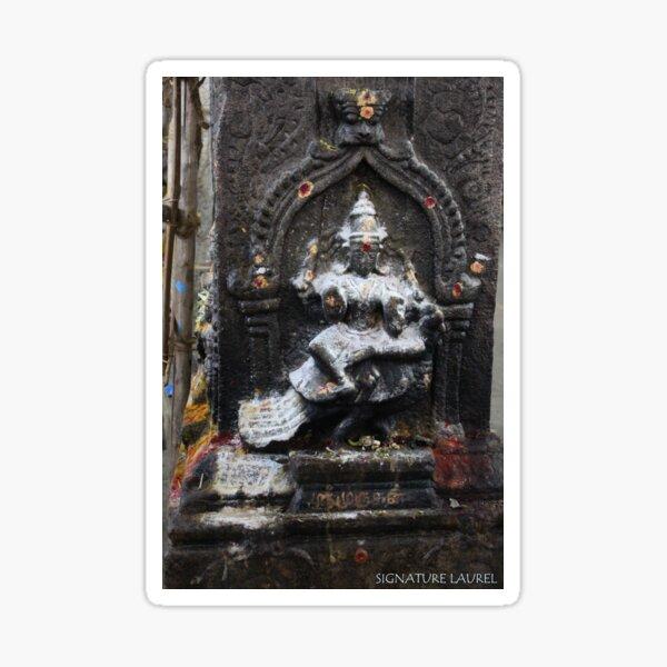 Dancing Shiva in the Temple Sticker
