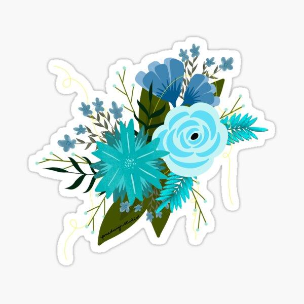 Frosted Floral Bundle  Sticker