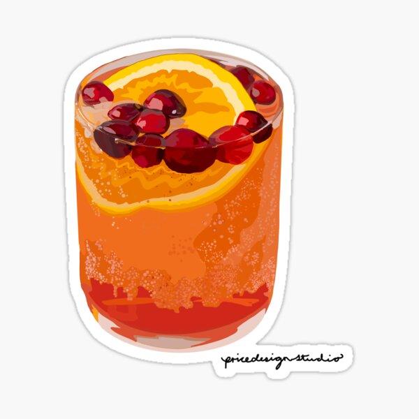 Summer Cocktail Sticker