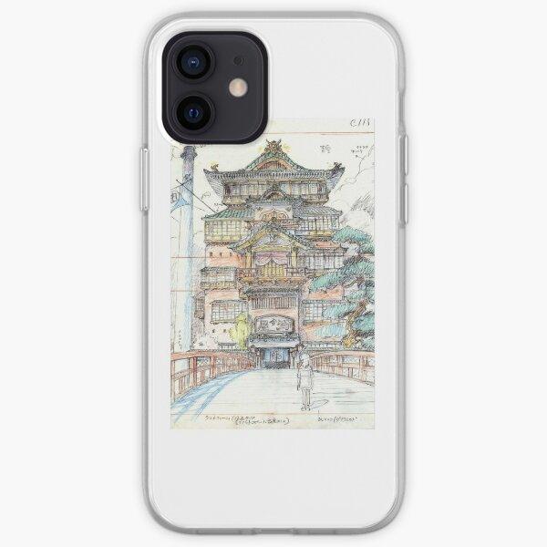 Bathhouse Concept Art  iPhone Soft Case