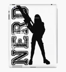 Nerd woman iPad Case/Skin