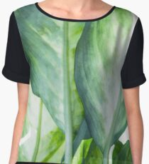 tropic abstract  Women's Chiffon Top