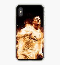Cristiano Ronaldo 'CR7' Fire Design iPhone Case
