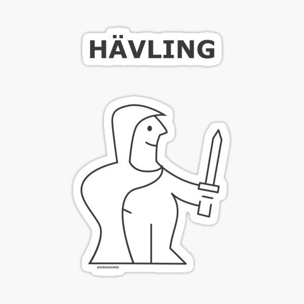 Dungeons and Dragons Halfling from IKEA Sticker