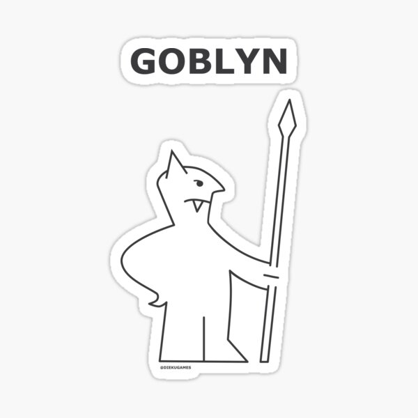 Dungeons and Dragons Goblin from IKEA Sticker