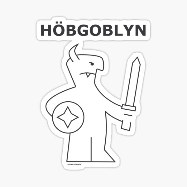 Dungeons and Dragons Hobgoblin from IKEA Sticker