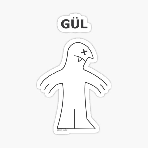 Dungeons and Dragons Ghoul from IKEA Sticker