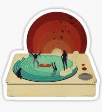 Dj Swimming Pool Sticker