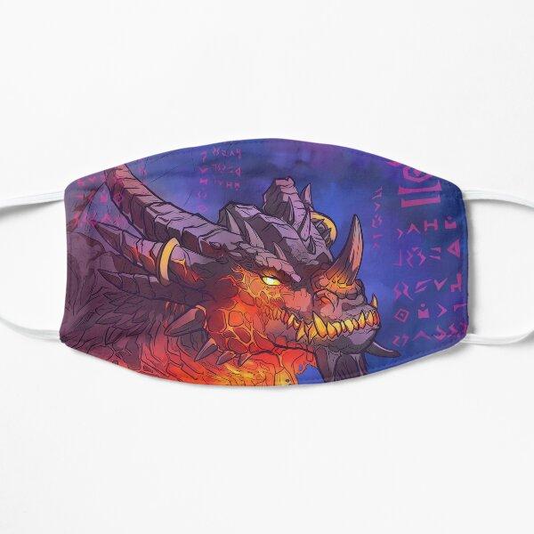 Wrathion The Black Emperor Black Dragon Flat Mask
