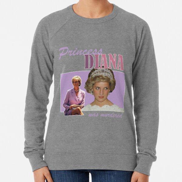 La princesse Diana a été assassinée Sweatshirt léger