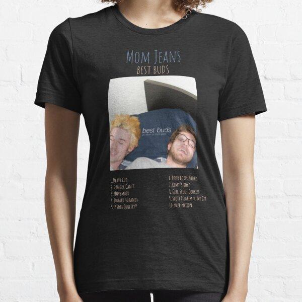 Mom Jeans - Best Buds - Logo TRACKLIST T-shirt essentiel