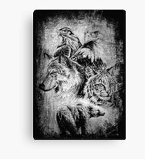 Wildlife collection Canvas Print