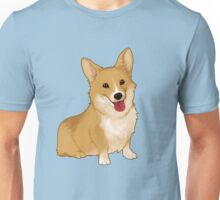 Cute smiling corgi Unisex T-Shirt