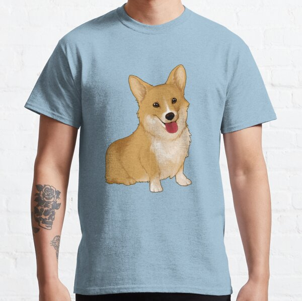 Corgi souriant mignon T-shirt classique